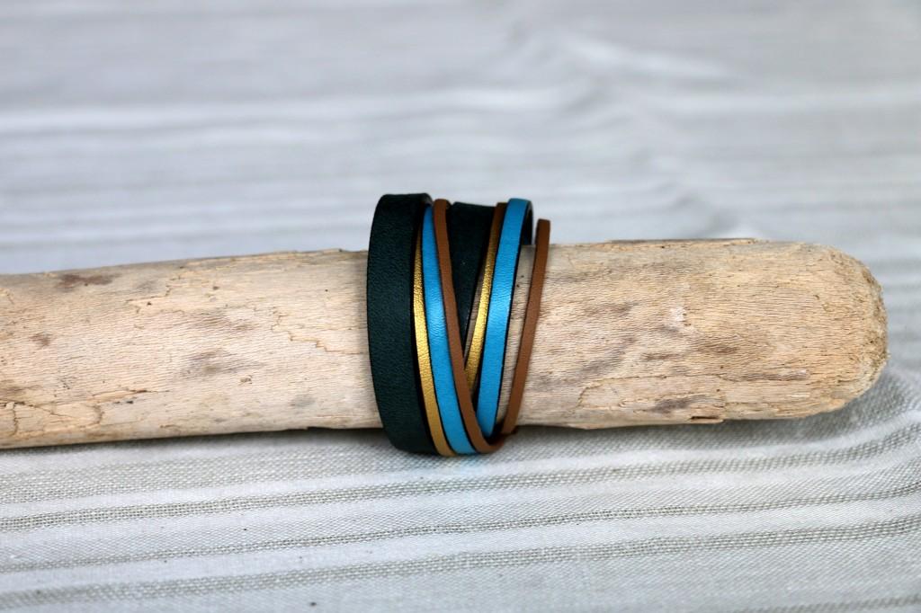 Bracelet Cuir n°3 - 38€