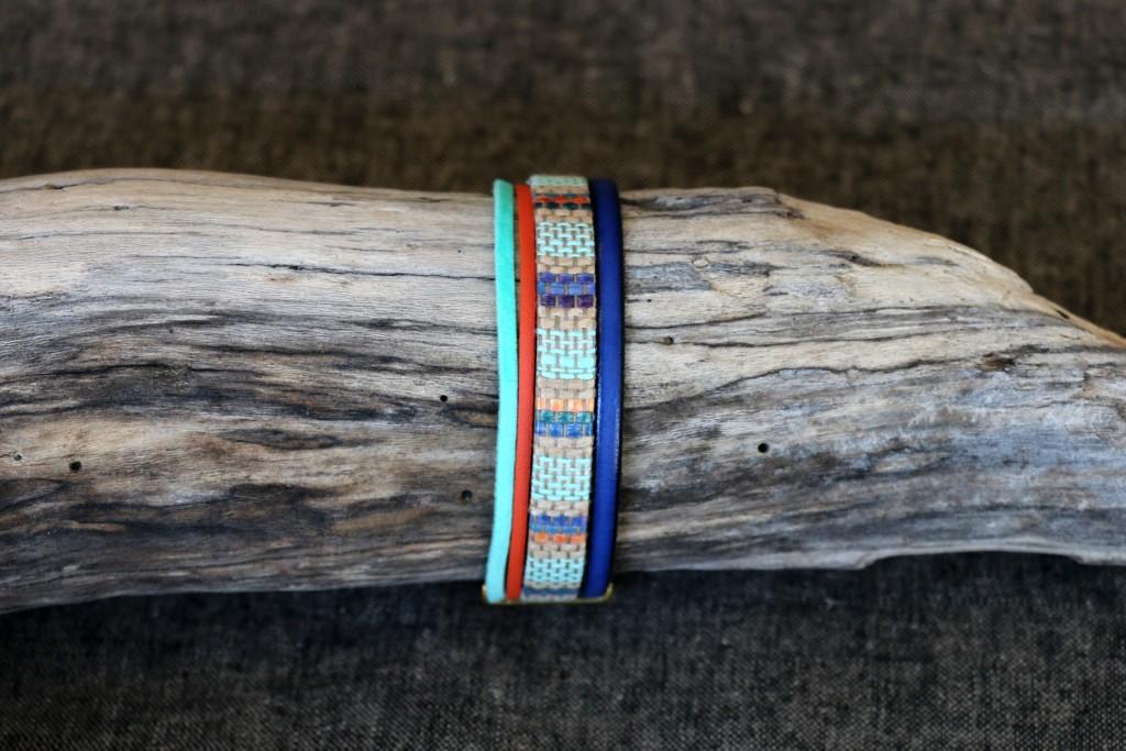 Bracelet Cuir n°30 - 34€