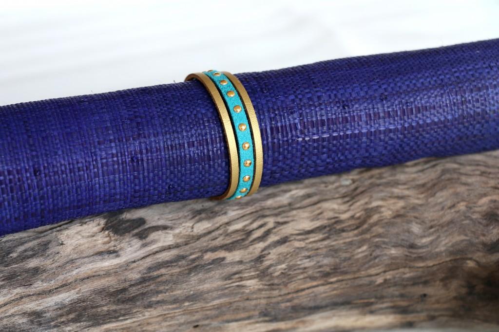 Bracelet Cuir n°4 - 22€