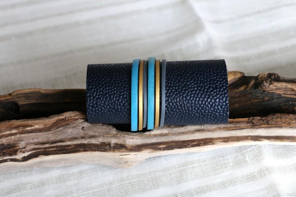 Bracelet Cuir n°5 - 28€